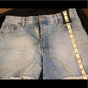 Lightly worn Victoria Secrets denim shorts
